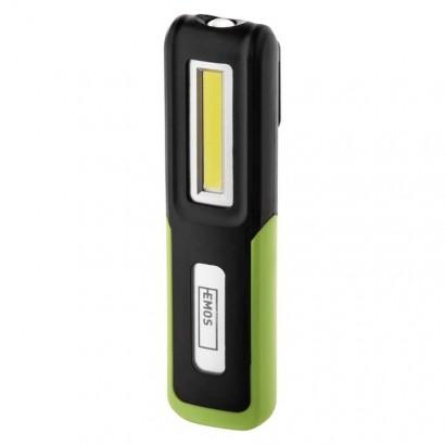 Emos P4530 CREE LED + COB LED nabíjecí svítilna P4530, 175 lm, 1200 mAh