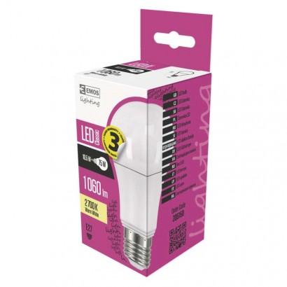 Emos ZQ5150 LED žárovka Classic A60 10,5W E27 teplá bílá