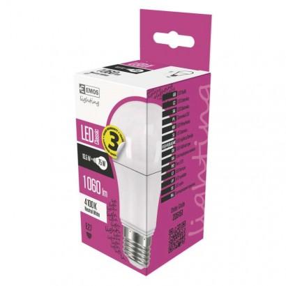 Emos ZQ5151 LED žárovka Classic A60 10,5W E27 neutrální bílá