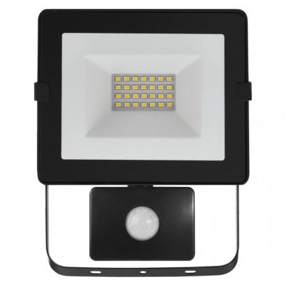 Emos ZS2321 LED reflektor HOBBY SLIM s pohyb. čidlem, 20W neutrální bílá