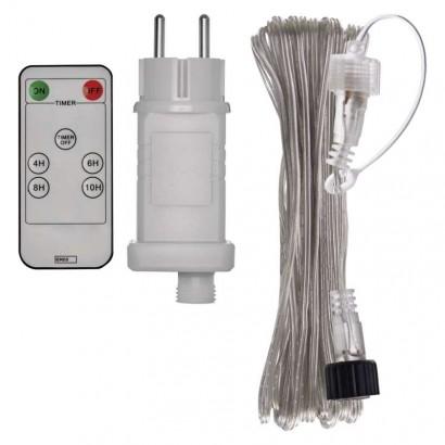 Emos ZY2300RB Napájecí zdroj s DO s transparentním prodluž. kabelem 10m