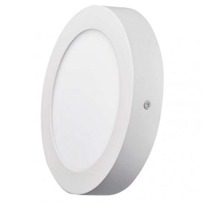 Emos ZM5132 LED panel 170mm, kruhový přisazený bílý, 12W neutrální bílá