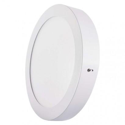 Emos ZM5142 LED panel 224mm, kruhový přisazený bílý, 18W neutrální bílá
