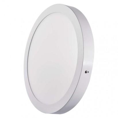 Emos ZM5152 LED panel 300mm, kruhový přisazený bílý, 24W neutrální bílá