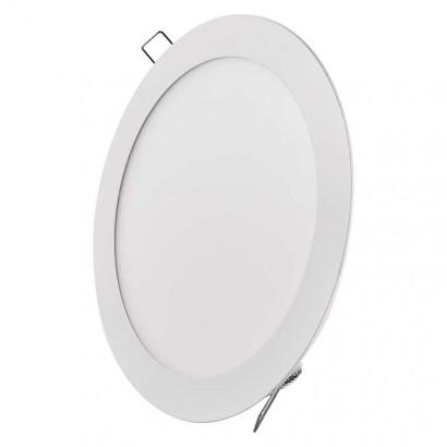Emos ZD1142 LED panel 220mm, kruhový vestavný bílý, 18W neutrální bílá