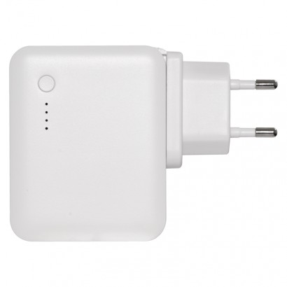 Emos V0118 USB adaptér SMART do sítě 2,4A (12W) max. s powerbankou