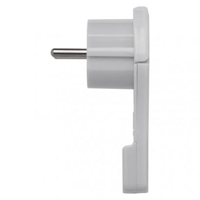 Emos P0066 Vidlice úhlová pro prodlužovací kabel, bílá