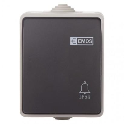Emos A1399 Ovládač tlačítkový 1/0, IP54