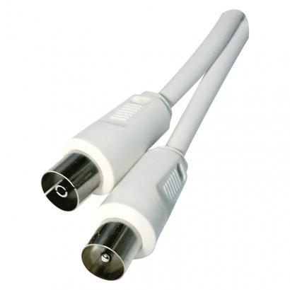 Emos SD3002 Anténní koaxiální kabel stíněný 2,5m - rovné vidlice