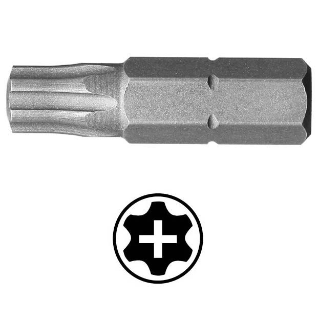 WEKADOR Bit torx 10 - 25 mm s profilem PLUS Professional