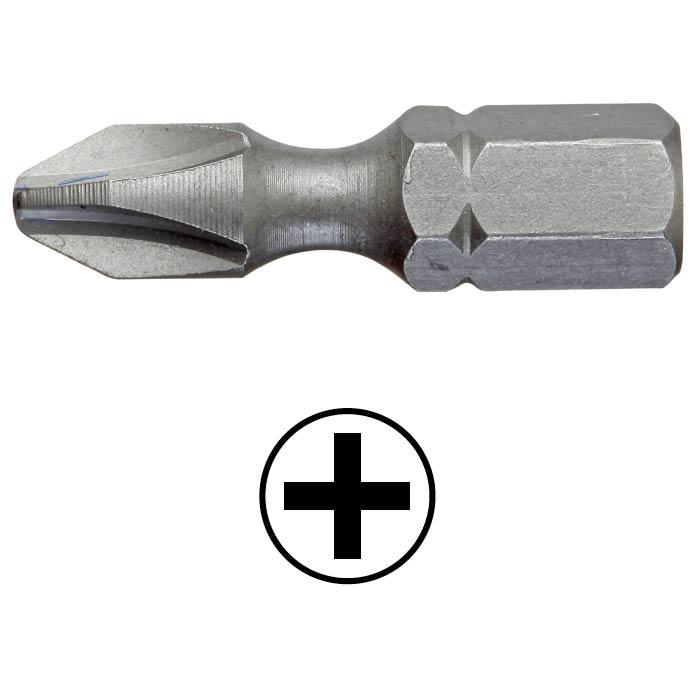 WEKADOR Bit Phillips PH3 - 25 mm torzní Professional