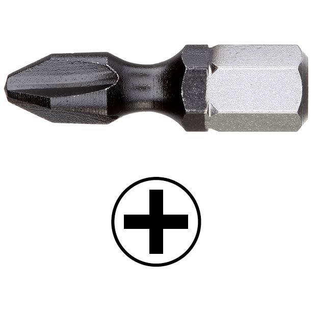 WEKADOR Bit Phillips PH3 - 25 mm torzní DLC