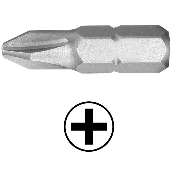 WEKADOR Bit Phillips PH1 - 32 mm náhon 5/16 Professional